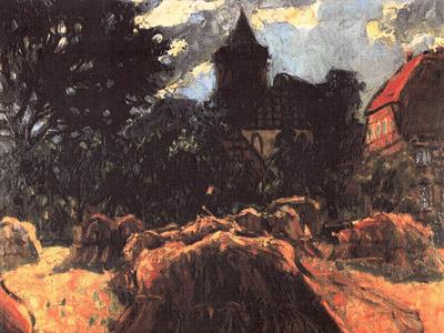 Gemälde von Marie Hager um 1920
